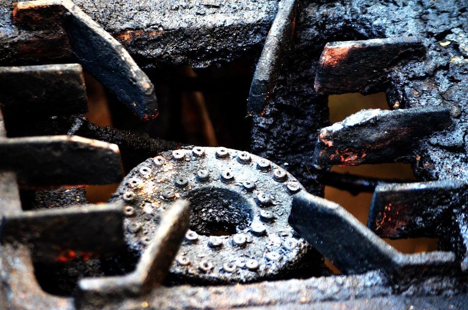 bruciatore barbecue a gas