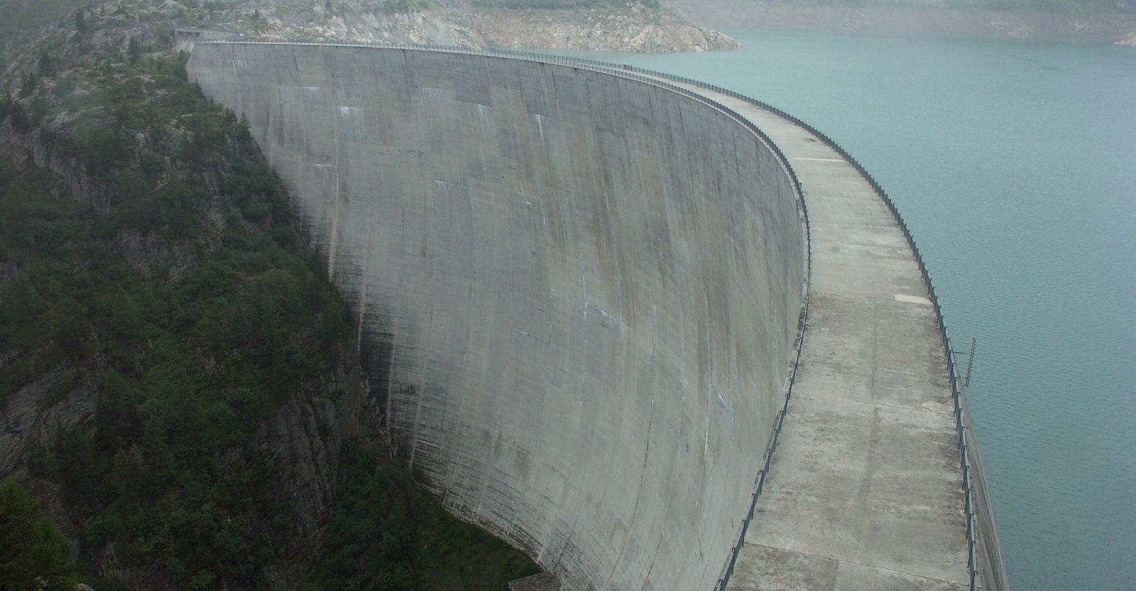 le riserve idriche usate per produrre energia elettrica
