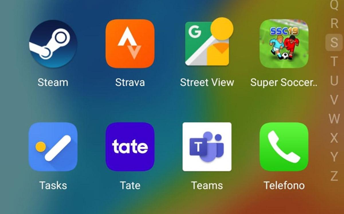 app tate icona smartphone