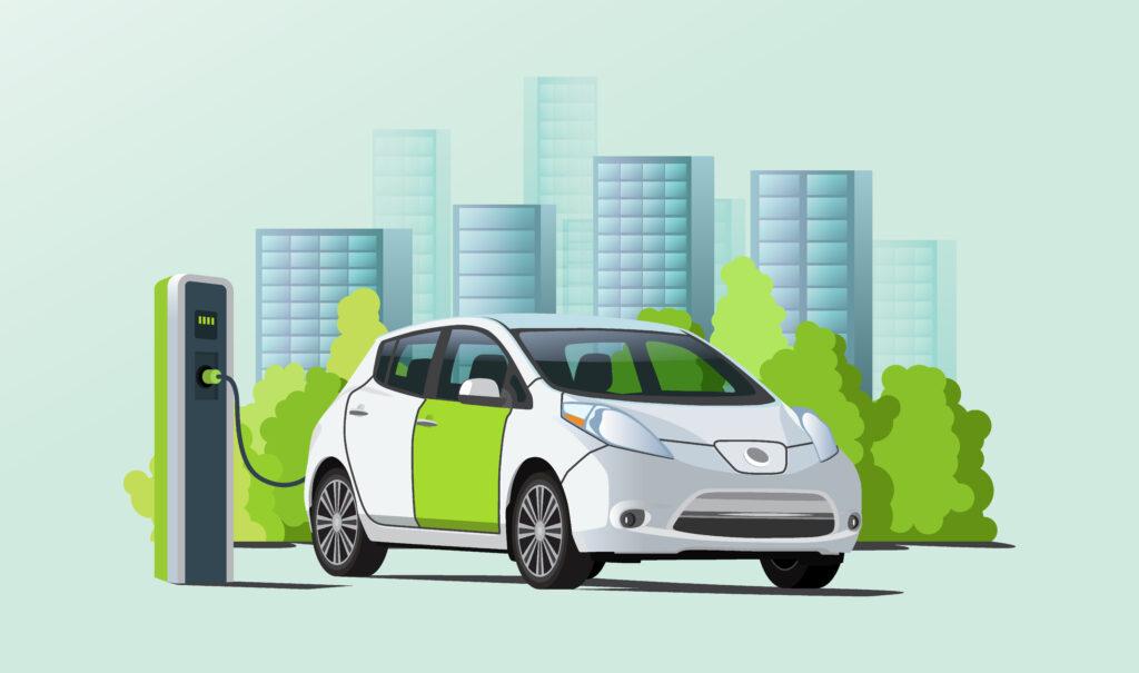 con enegan puoi noleggiare un'auto elettrica