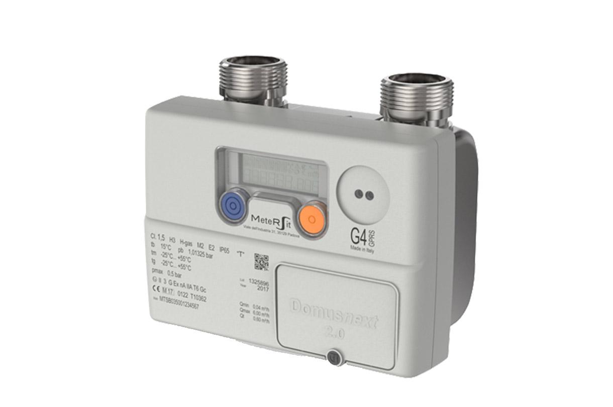 contatore gas elettronico modello G4