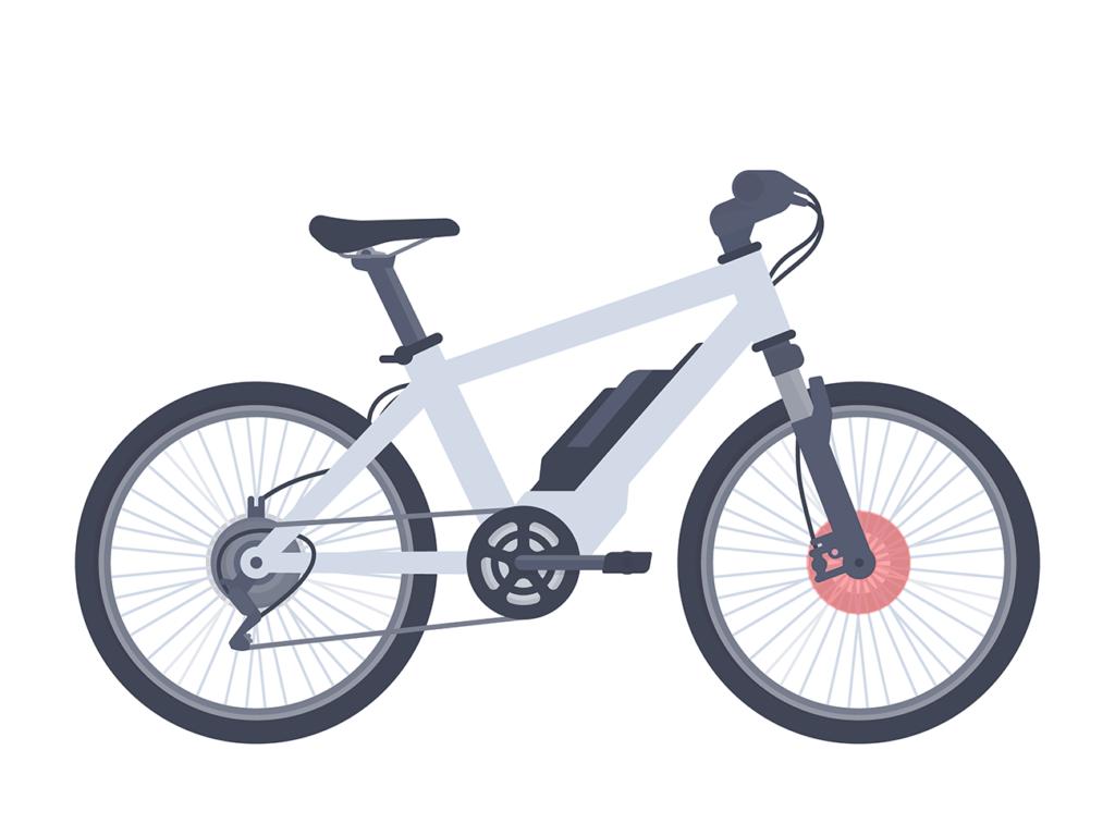 e-bike motore anteriore