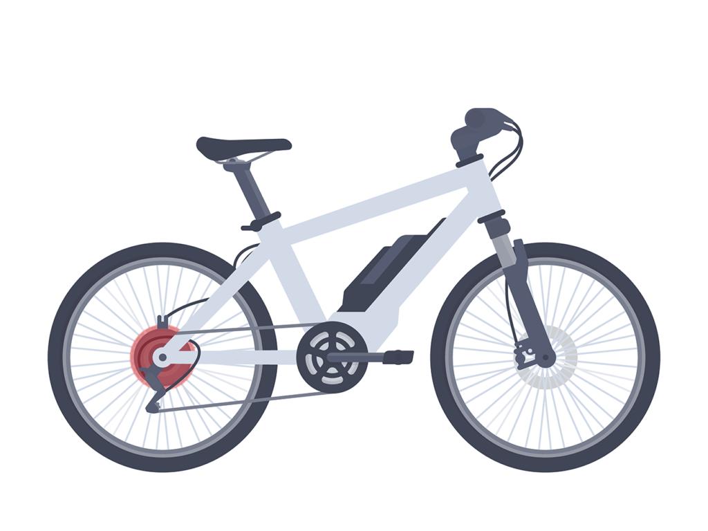 e-bike motore posteriore