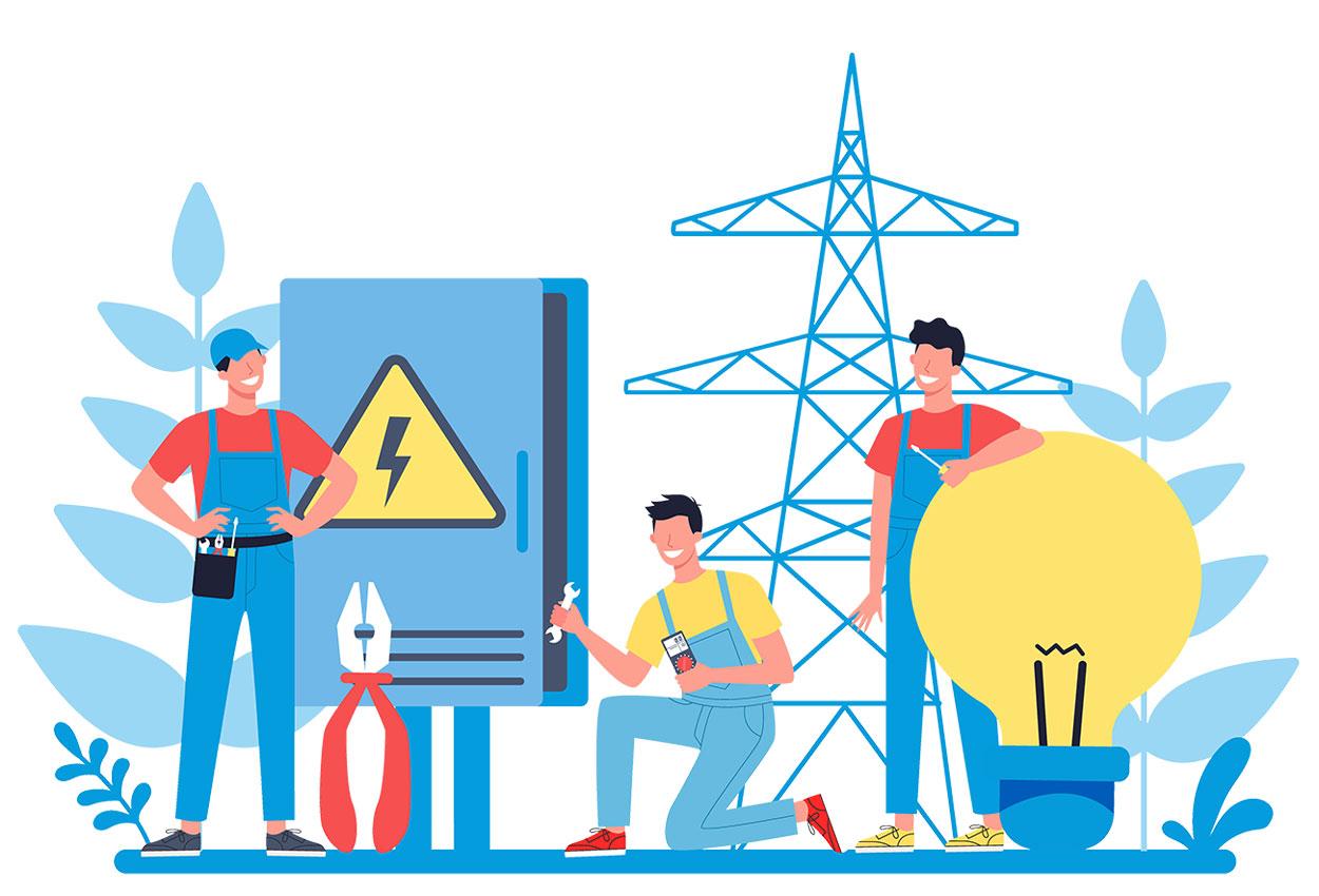 distributore energia elettrica