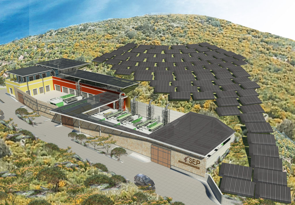nuova centrale fotovoltaica monte pagliaro ponza