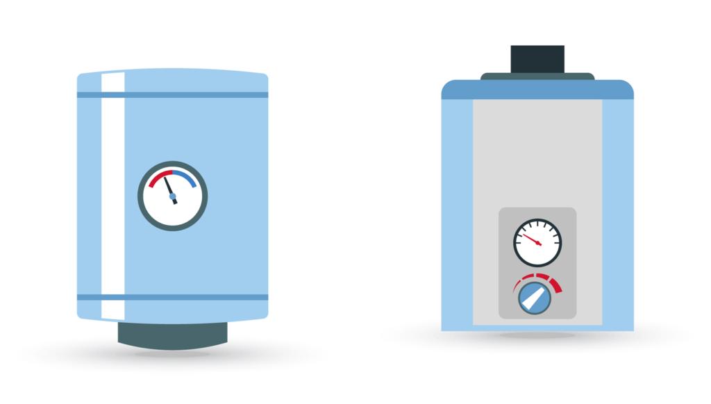 confronto scaldabagno gas e elettrico