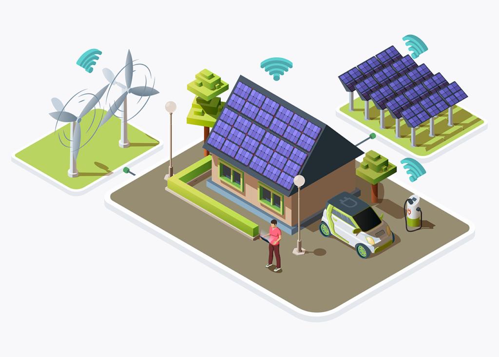 risparmio energetico con energia rinnovabile