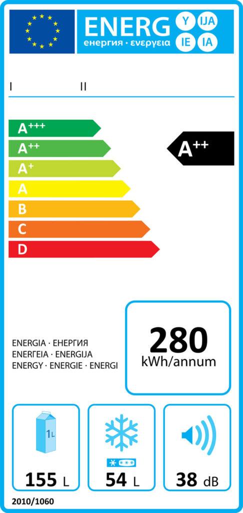 etichetta energetica europea elettrodomestici