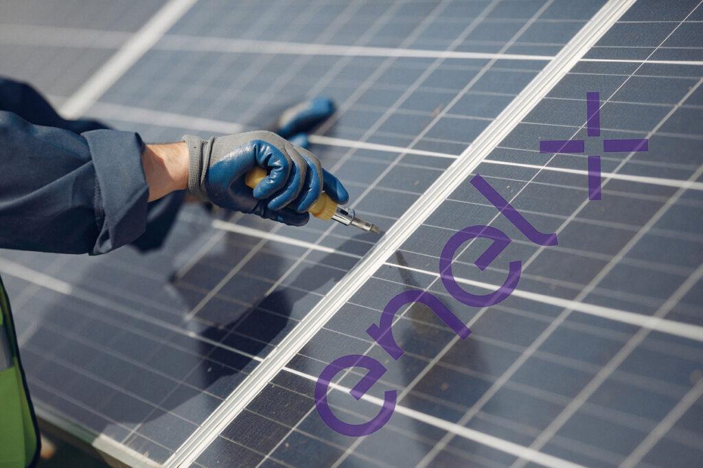 pannello solare fotovoltaico enel x