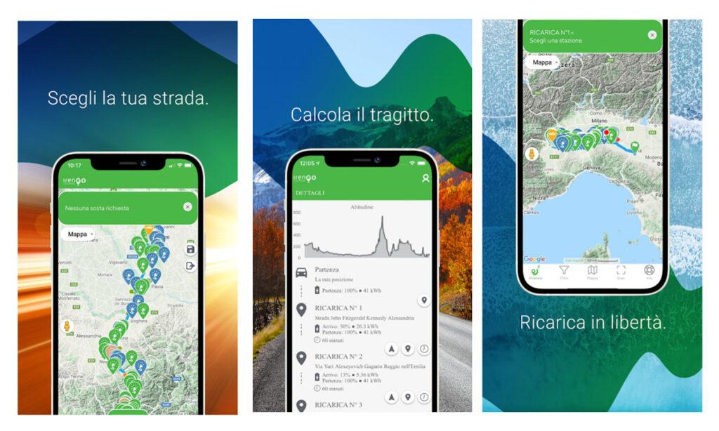 app irengo schermata google play