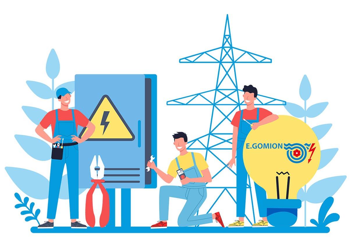 Società Cooperativa Elettrica Gomion logo