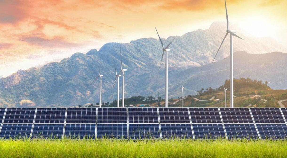 energia sostenibile verde