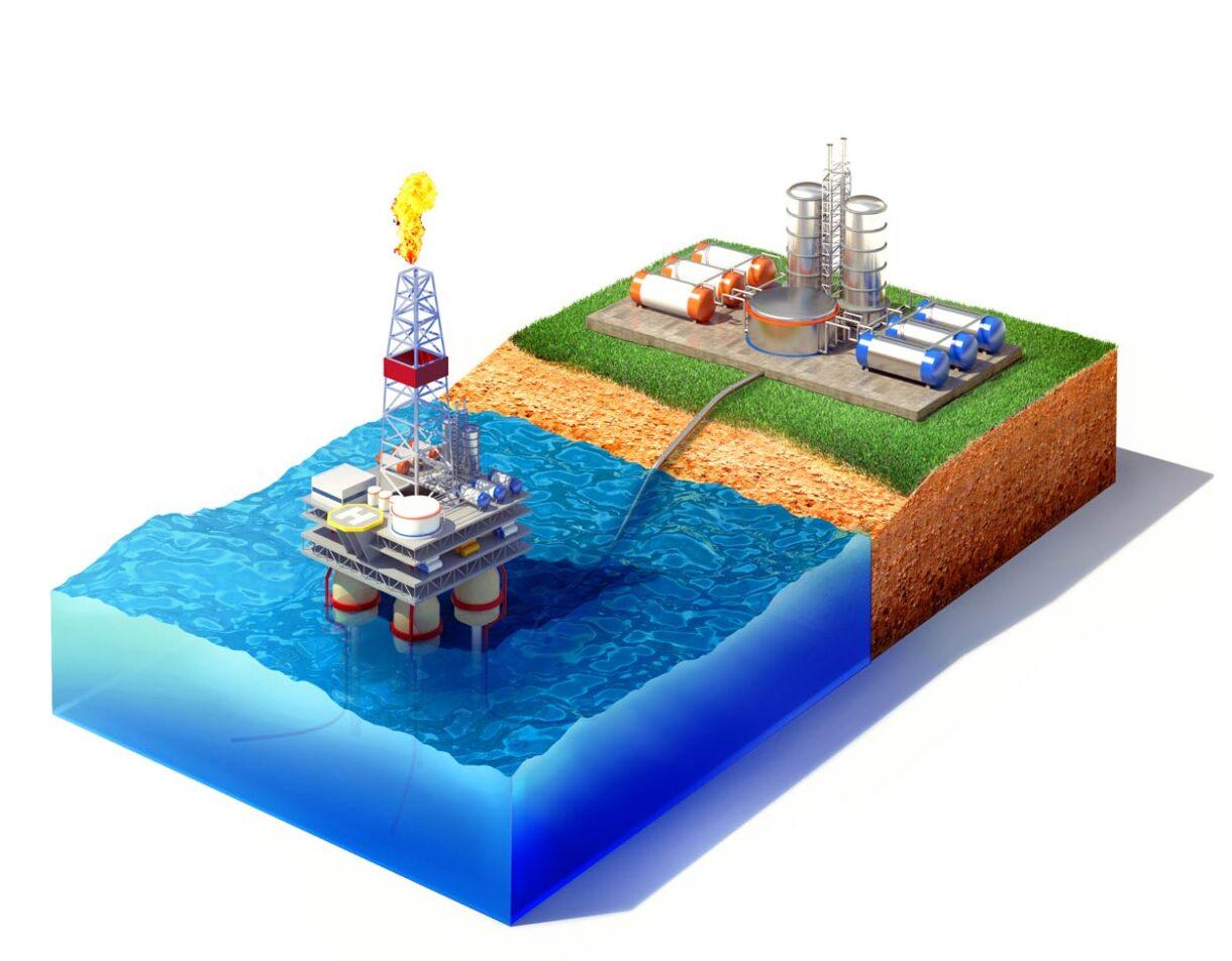 gli impianti utilizzati per lo stoccaggio della CO2 saranno gli stessi usati per l'estrazione e la raffinazione